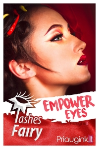 "Plakatas ""Empower eyes"""