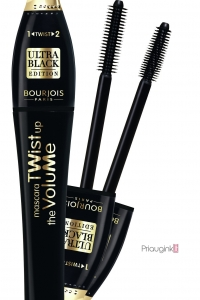 Bourjois Paris blakstienų tušas Mascara Twist Up The Volume Ultra black