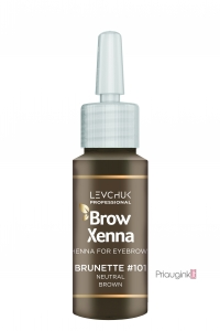 Antakių dažai BrowXenna BROWN Nr. 101 Neutral Brown 10 ml