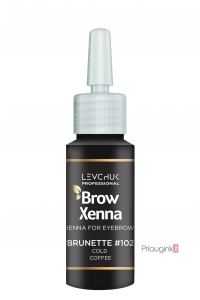 Antakių dažai BrowXenna BROWN Nr. 102 Cold Coffee 10 ml