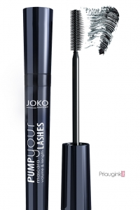 JOKO blakstienų tušas PUMP YOUR LASHES BLACK