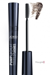 JOKO blakstienų tušas PUMP YOUR LASHES BROWN